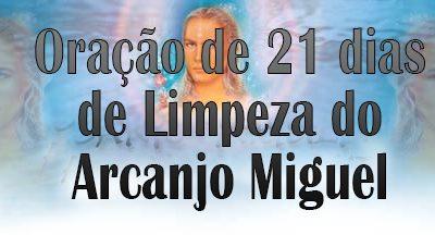 Oração de Limpeza 21 dias do Arcanjo Miguel